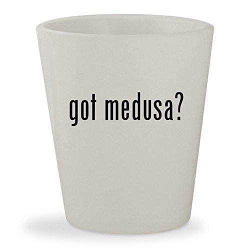 got medusa? - White Ceramic 1.5oz Shot - Head Versace Sunglasses Medusa