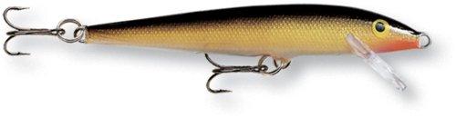 Rapala 09 Original Floater Fishing Lures, 3.5-Inch, Bleeding Copper - Copper Flash
