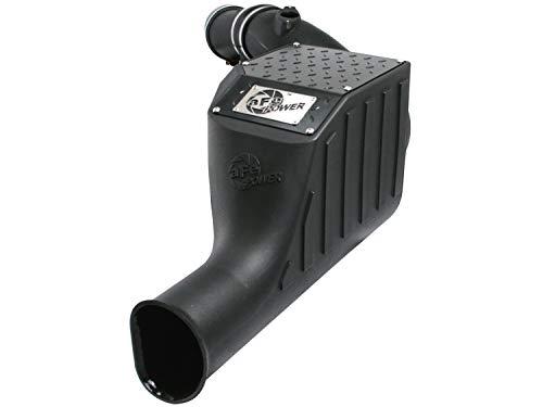 Diesel System Filter Exhaust Back (aFe Power Magnum FORCE 51-81022 Ford Diesel Truck 03-07 V8-6.0L (td) Performance Intake System (Dry, 3-Layer Filter))