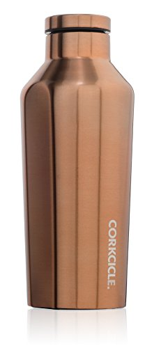 UPC 852263005182, Corkcicle Canteen - Water Bottle and Thermos - Keeps Beverages Cold for Over 25, Hot for Over 12 Hours - Triple Insulated with Shatterproof Stainless Steel Construction - Copper - 9 oz.
