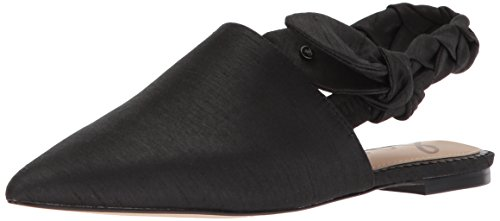 Sam Edelman Women's Rivers Mule, Black Dupioni, 5.5 Medium US