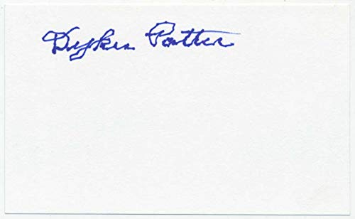 3 x 5 Potter, Dykes 9.5