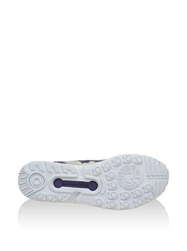 Oscuro adidas Geschlossen Morado Blanco Flux Herren ZX Negro pRngRq