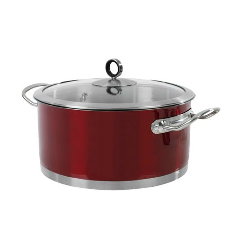 Morphy-Richards-46371-Casserole-24-cm-Red