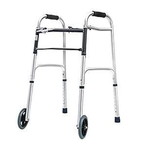 LHNLY-Andadores Marco Que Camina estándar Ligero Plegable para los ...