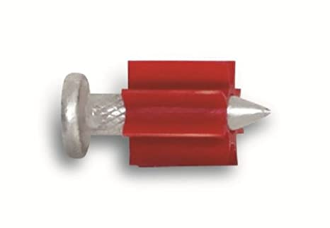 Powers Fastening Innovations 50032 Drive Pin 1-1/4-Inch Length 0.300 Head 0.145 Shank Diameter, 100 Per Box