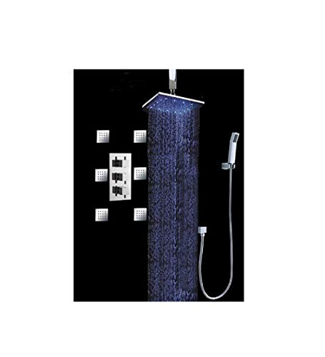 Luxury Bathroom Shower Set with Luxury 12