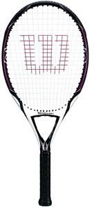 Wilson [K] Zero Strung Performance Value Tennis Racket (Red/Black, 4 3/8)