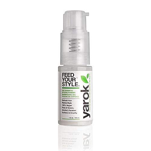 Yarok Dry Shampoo Feed Your Style for All Hair Types, Vegan,