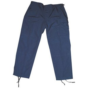 Propper Men's Bdu Trouser - Button Fly - 65/35 Ripstop, Dark Navy, x Large Long