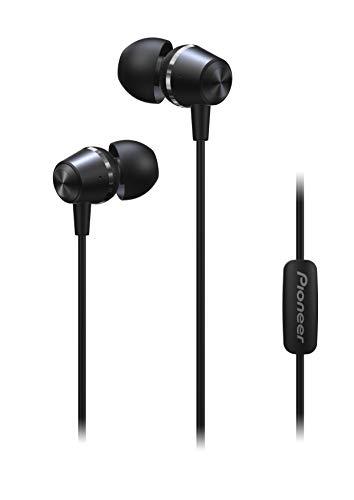 Pioneer in-Ear Deep Bass Headphones, Black, SE-QL2T(B) (Pioneer In Ear Headphones)