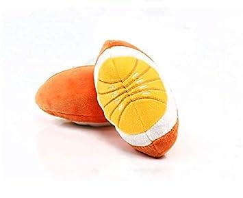 LINSUNG Jouet pour chien vocal carotte banane aubergine cuisse de poulet jouet en peluche pour animal de compagnie