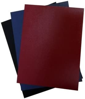 Maroon Velobind Regency Vinyl Report Cover Pre punched 11 hole 100 pieces 8 1//2 x 11