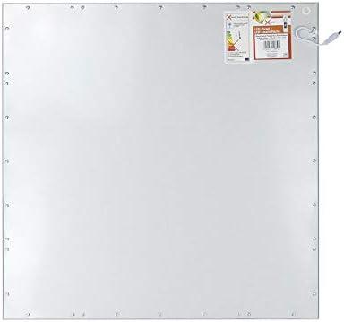 5x Xtend LED Panel 62x62 neutralweiß 40W 4000K nicht dimmbar PMMA LGP ultraslim Rasterleuchte Einlegeleuchte für Rasterdecken inkl. Netzteil Serie Ple2.1