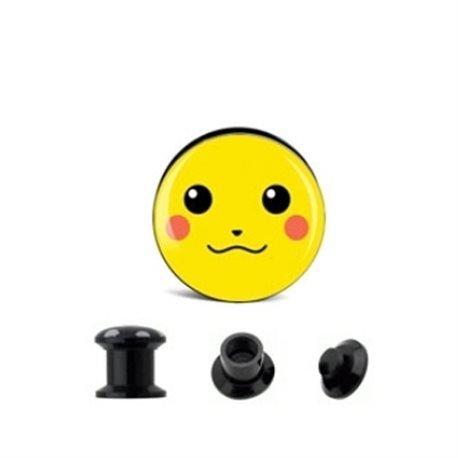 Piercing Dilatador acrílico, diseño de Pokémon.: Amazon.es: Joyería
