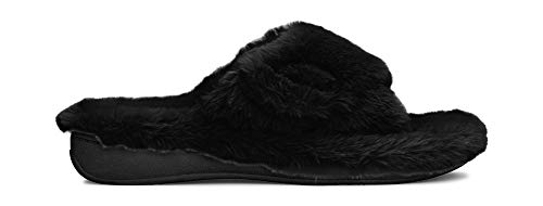492b8983ae1 Vionic Women s Indulge Relax Plush Slipper - Adjustable Slipper with Concealed  Orthotic Support