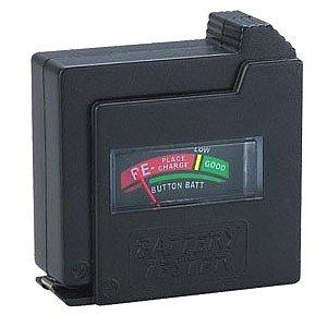 Universal Batterietester auch Knopfzellen FHT-6862 AAA (Micro), AA (Mignon), C (Baby), D (Mono), 9V-Block und Knopfzellen