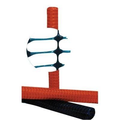 Safety/Barrier Fences - 4'x100' flat laminated fencing 3000# tensile str
