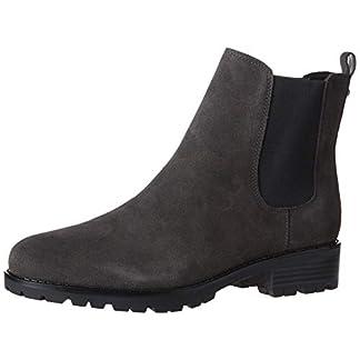 NINE WEST Women's wnANGELO Chelsea Boot, Gray Multi, 3/9 UK 5