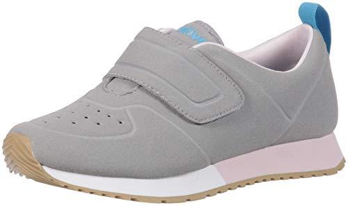 native Kids Baby Cornell Sneaker, Piegon Grey/Shell White/Milk Pink/Gum Rubber, 10 Medium US Toddler