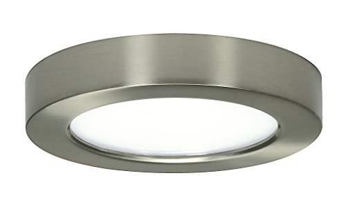 - Satco Products S9321 Blink Flush Mount LED Fixture, 10.5W/5
