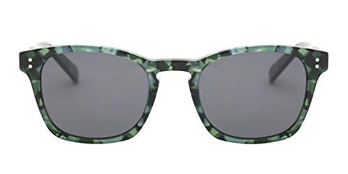 TIJN Keyhole Acetate Frame Polarized Sunglasses for Men - Sunglasses Shopping Mens Online