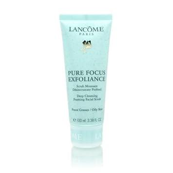 lancome face scrub