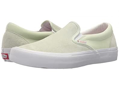 dddf026159edf9 Image Unavailable. Image not available for. Color  Vans Classic Slip On  Ambrosia White Men s Classic Skate Shoes ...