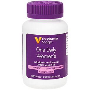 One Daily Women's Multivitamin (180 Tablets) by The Vitamin Shoppe