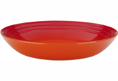 Le Creuset Stoneware 9 3/4'' Pasta Bowl, Flame