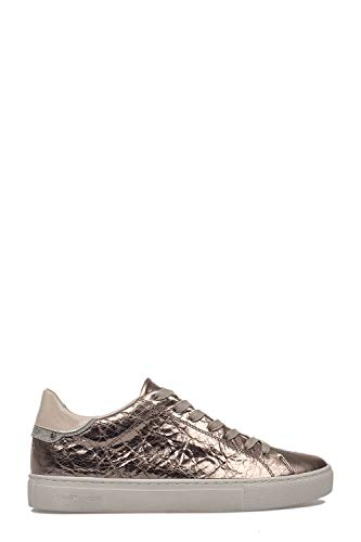 London 25104pp123 Oro Pelle Crime Donna Sneakers SqYvY