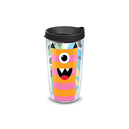 Tervis Halloween Cyclops Wrap 16oz Tumbler with black Lid, (Halloween Insulated Tumblers)