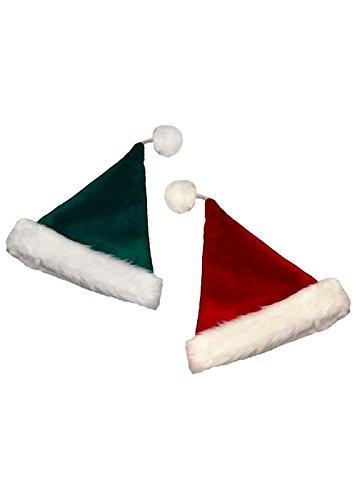 Santa (Burgundy Santa Hat)