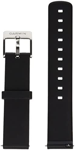 Garmin Vivomove Replacement Neutral and Sporty Band Fitness Tracker for Smartphone Black