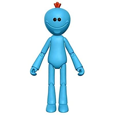 "Funko 5"" Articulated Rick and Morty Meeseeks Action Figure: Funko 5 Articulated Action Figure:: Toys & Games"