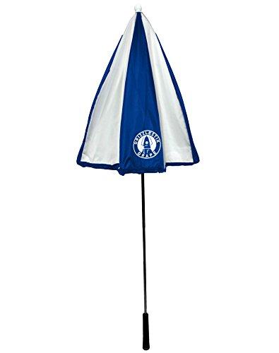 DrizzleStik Drape - Golf Club Umbrella (Navy/White) by Drizzle Stik