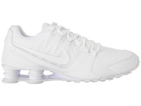 new product 404c6 620e2 ... low cost nike menns shox avenue joggesko hvit hvit 833583 107 hvit hvit  007c5 33a08