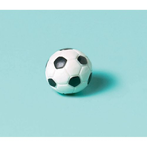Amscan Cool Soccer Bounce Balls Sports Party Toy Favour and Prize Giveaway, 35mm, Pack of (Small Soccer Ball)