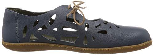 Vaquero el Soft Viajero Grain Cordones Zapatos De Naturalista N5271 Adulto vaquero Unisex Brogue El Azul XwIAFnYX