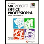 A Guide to Microsoft Office Professional 9781879233850