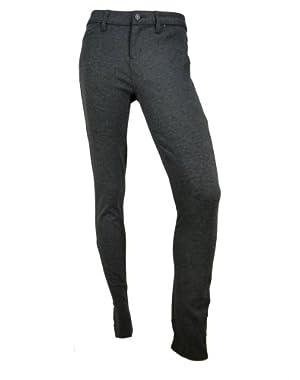 Calvin Klein Womens Legging Jeans (Charcoal, 4)