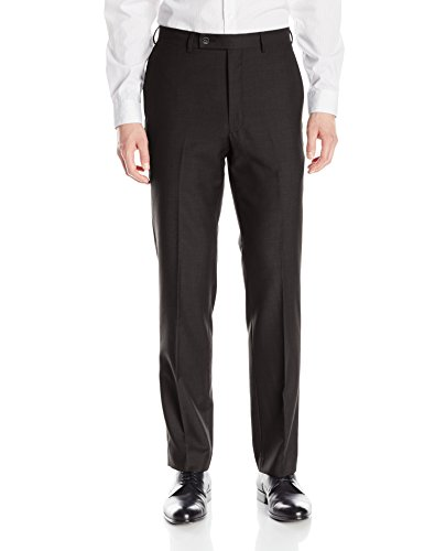 Calvin Klein Men's X Slim Fit High Performance Stretch Suit Separate Pant, Black, 36 X 30 by Calvin Klein