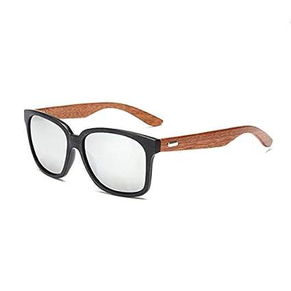 Amazon.com: Kasuki Rays Designer Wooden Frame Sunglasses ...