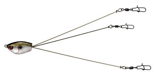 One Size Yum Lures Yumbrella 3 Wire Rig Multi