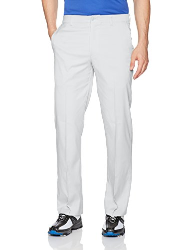 PGA TOUR Men's Motionflux 360 Flat Front Pants with Active Waistband, Microchip, 32 x 32 (Flat Front Golf Pants)