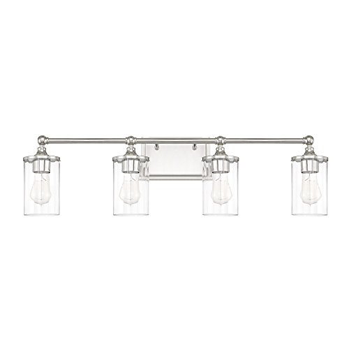 Capital Lighting 120741PN-423 Four Light Wall Sconce - Capital Lighting Four