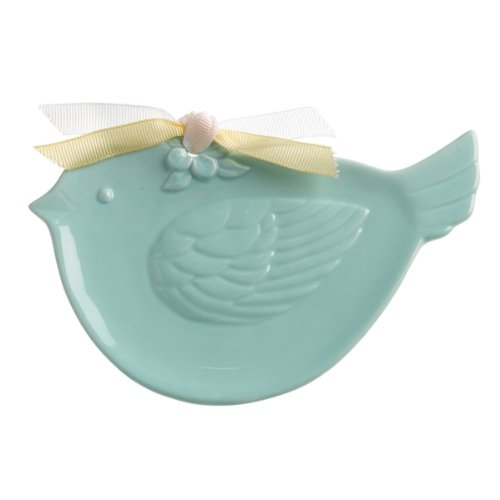 Soap Dish with Towel, Bluebird