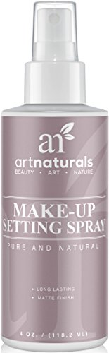 ArtNaturals Natural Makeup Setting Spray - Long Lasting and All Day Extender –Made with Aloe Vera - 4 Fl Oz (All Natural Spray)