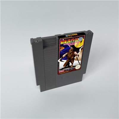 BrotheWiz 72 pin 8 bit game Ninja Gaiden III 3 Restored - 8 Bit Game Card for 72 pins Game Cartridge Console