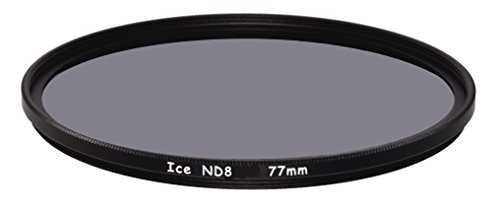 ICE 77mm ND8 Filter Neutral Density ND 8 77 3 Stop Optical Glass